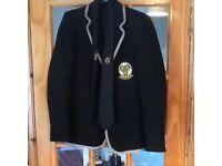 Girls 6th year prefect inverkeithing high school blazer size 11 chest 33