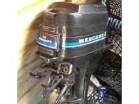 20hp Mercury Outboard, 70's/80's model.