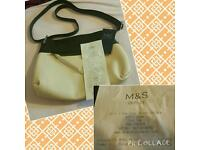 NEW WITH TAGS LADIES M&S HANDBAG