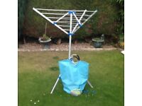 CAMPING ROTARY CLOTHES LINE