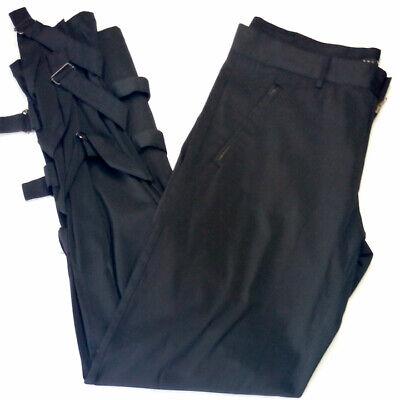 Pantalone donna tg. 50 nero dritti SHS marca Alta qualità invernale RP € 49