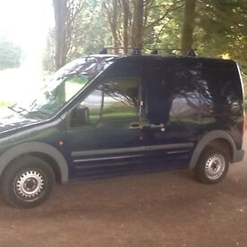 FORD TRANSIT CONNECT LWB/ HIGHROOF 10/ 07 T230 1.9 TDCI 1 OWNER FULL S/ HISTORY MAINTENANCE RECORDSŶ