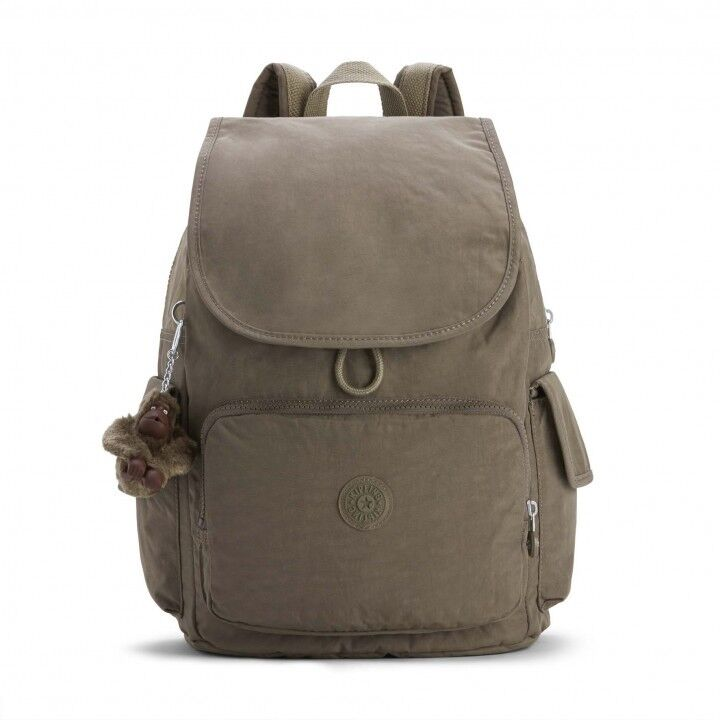ZAINO KIPLING CITY PACK  K1214 777W BASIC EWO TRUE BEIGE