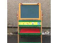 Children's black board, magnetic board.