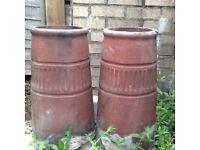 Terracotta Chimney Plant Pots