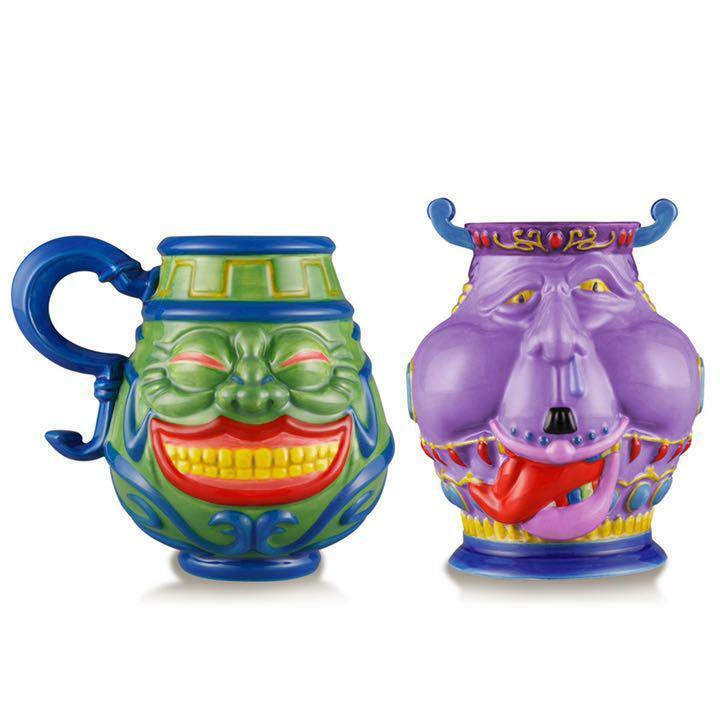 BANDAI Yu-Gi-Oh! Pot of Greed Mug Cup & Pot of Avarice Tea Cup Set New Japan