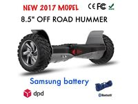 Brand New SAMSUNG HUMMER with Bluetooth Speaker Hoverboard swegway segway