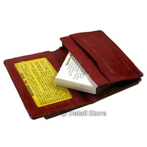 New-EEL-SKIN-Credit-Business-Card-id-Loading-Holder-Soft-Case-Wallet-Carrier