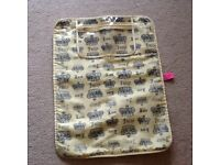 Juicy Couture travel nappy sack
