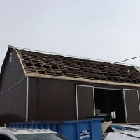 BARN REPAIRS, STEEL ROOFING & EAVESTROUGHING FULLY INSURED