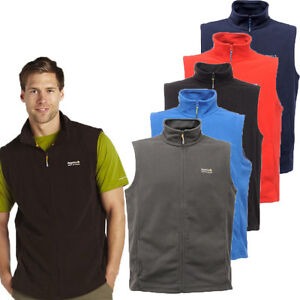 RRP-14-99-MENS-REGATTA-FULL-ZIP-FLEECE-BODYWARMER-SIZES-M-XXXL-Tbs