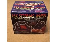 PSX Steering Wheel for Playstation