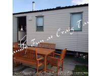 Caravan Hire at Craig Tara ùp to 8 people