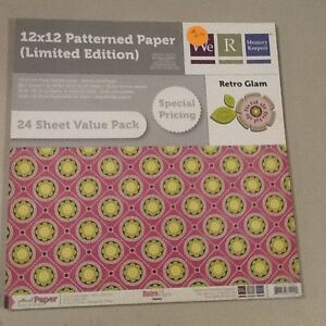 12x12 paper pads reduced to $5.00