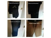 Various sized Mens Clothing