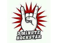 #3minuterockstar - The Ultimate Rockaoke Party Band Available for Hire