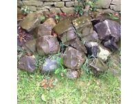 Used random stone