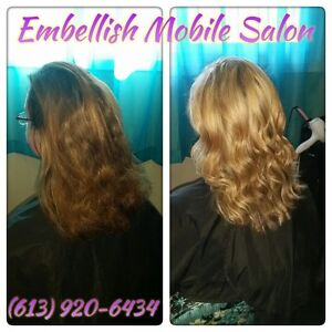 Weddings, Hair Extensions, Hair Colour, Highlights, Cuts & More Belleville Belleville Area image 10
