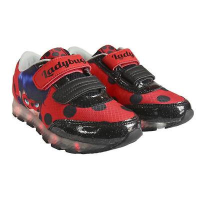 Sneaker Ladybug Marienkäfer mit LED Licht Schuhe Kinderschuhe - Marienkäfer Kind Schuhe