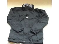Black Helly Hansen jacket - age 14