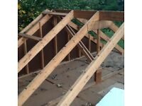 Roof timbers in great condition