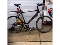 "Men's 26"" Claude Butler Bike 21 speed new cables + tyres + handle grips good cond cb5 £110"