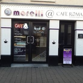 Ice Cream Parlour/Sandwich Bar/Cafe business for sale Garvagh Main Street