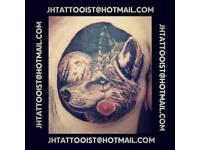 Processional tattooist