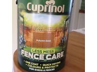Cuprinol Autumn Gold Fence Care Paint