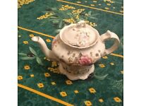 A very old teapot
