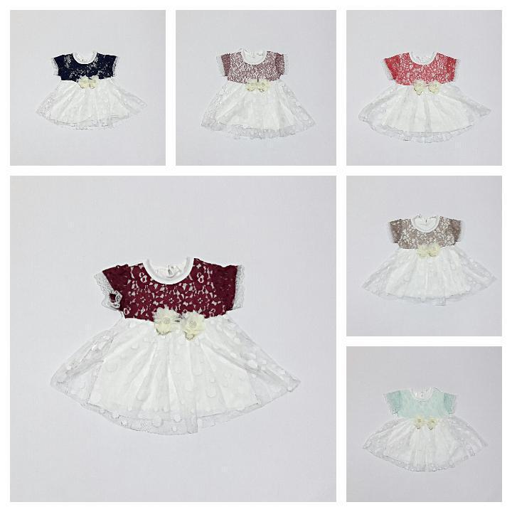 ♥ Neu ♥ Babykleidung |1-teilig|  Kleid | Gr  56 / 62 |