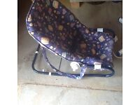 Graco Adjustable baby bouncer, clean and tidy.