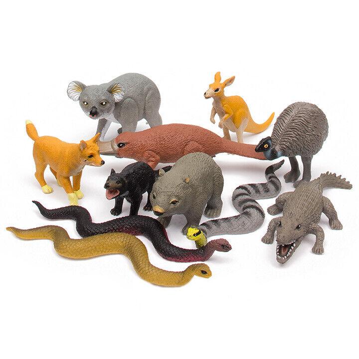 NEW Toy Wild Republic Nature Tube Australian Aussie Animal