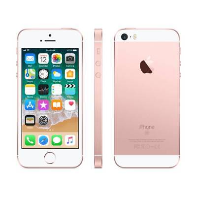 Apple iPhone SE -64GB-Rose -Gold-GSM-(Unlocked) [A1662] T-Mobile AT&T Metro PCS