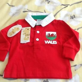 Baby Welsh Rugby Top
