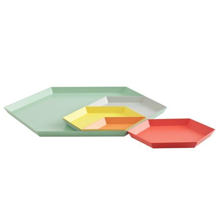 HAY Kaleido Designer Steel Tray (Small)
