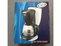 NEW in box - Cordon Bleu 10 Cup Coffeemaker £10