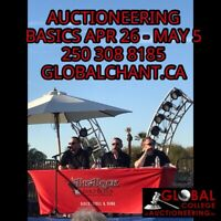 AUCTIONEERING BASICS April 26 - May 5
