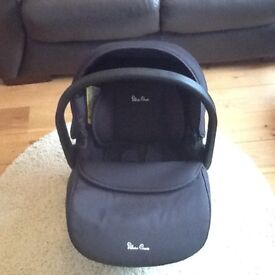 Silver Cross Simplicity Car Seat, black - excellent condition