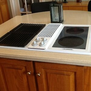 Jenn-air electric 30 inch downdraft radiant/grill cooktop
