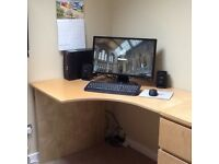 Corner desk worktop (ikea)