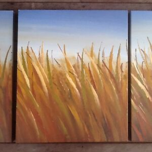 Art - Three Panel Painting Flynn Belconnen Area Preview
