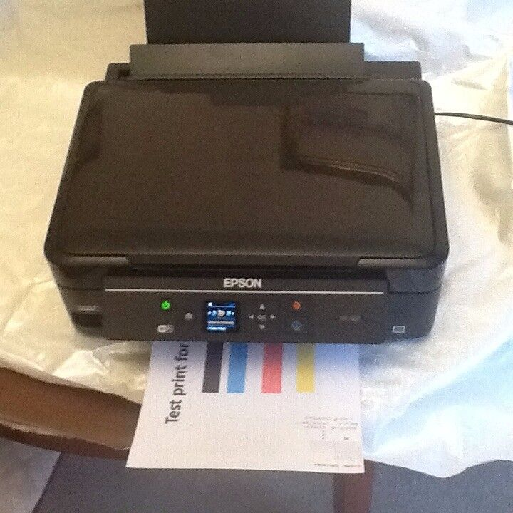 Epson Expression Home XP-322 All-in-One Inkjet Printer with inks