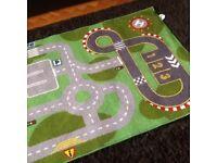 Road car play mat