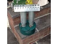 Double paraffin heater for greenhouse