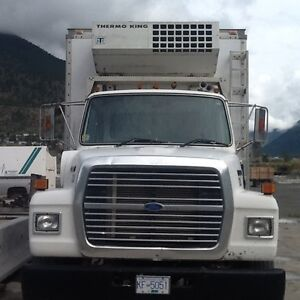 CERTIFIED FORD 5 TON REFRIGERATED --  AIR BRAKES