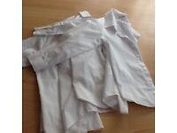 Boys white debhanams school shirts age 6yrs