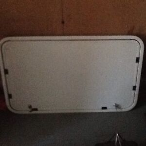 Large RV Door - outside storage - lockable - more than 50% Off