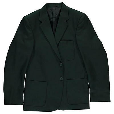 Boys Kids Navy Green School Blazer Coat 34,36,38, BEST PRICE ON EBAY FREE P&P - Kids Green Blazer