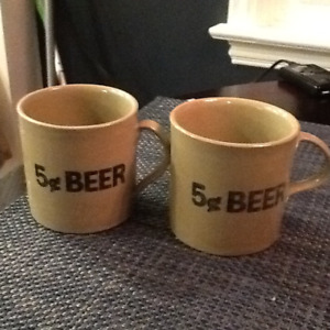 5 cent Beer Mugs